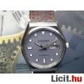 Eladó CITIZEN férfi automata ezüst szín bőr csat óra dátum szürke számlap
