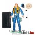 Eladó GI Joe figura - 25th Wild Bill v12 100% komplett katona figura kék megjelenéssel és pilóta sisak