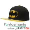Eladó eredeti snapback sapka Batman hímzett mintával s DC Comics logo matricával, állítható felnőtt méretb