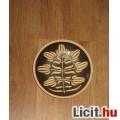 egyedi  virágmintás fali tányér 2db