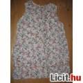 Virágfüzéres lányka ruha,méret:92/98