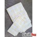 Két részes világos sárga ágynemű huzat