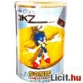 Eladó 4cm-es Sega Sonic figura - Sonic játék figura jobbra-el mutató pózban - Sonic the Hedgehog Tomy Gach