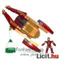 Iron Man / Vasember Mega Bloks építőjáték - mozgatható Iron Man / Vasember figura és építhető jármű