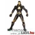 Eladó Bosszúállók 10cmes Vasember figura fekete-arany Iron Man MK V Stealth / Evolution, extra-mozgatható