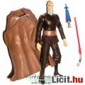 Eladó Star Wars figura - Count Dooku Gróf figura Clone Wars megjelenéssel, rátehető palásttal, fénykarddal