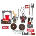 4cmes Kre-O Fantasy minifigura szett - Király trónnal és Ork harcos fegyverekkel - 2db figura, csom.