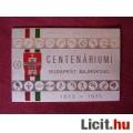 Eladó Centenáriumi emlékplakett (1873-1973)