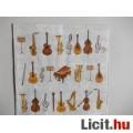 Eladó szalvéta - hangszerek