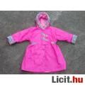 Eladó *Pink színű bélelt kislány dzseki/kabát kb. 128-as
