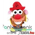 Eladó Toy Story 23cmes Krumplifej Úr / Mr Potato Head plüss játék figura - Tűzoltó kiegészítőkkel és tépőz