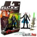 Eladó GI Joe figura - 10cm mozi Cobra Commander extra-mozgatható katona figura kígyóval, lövedékes fegyver