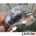 Eladó Tibeti ezüst karkötő, karperec szerencsehozó tigrisekkel.