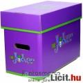 Eladó Képregény tároló doboz - Batman Joker - Comics Short Box / Storage Box 40x21x30 cm - DC Comics