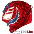 Eladó Pankrátor maszk - Rey Mysterio piros-ezüst-kék felvehető mexikói Lucha Libre Pankráció maszk