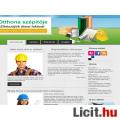 Eladó Bemutatkozó weboldal építési vállalkozásoknak.