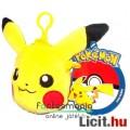 12cmes Pokemon / Pokémon plüss Pikachu 12cmes pénztárca figura - Új
