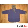 Eladó kék/kockás széldzseki,méret:116
