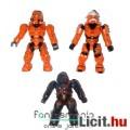 Halo figura - 3db minifigura - Orange Spartan Hayabusa & Spartan vs Covenant Brute - Mega Bloks