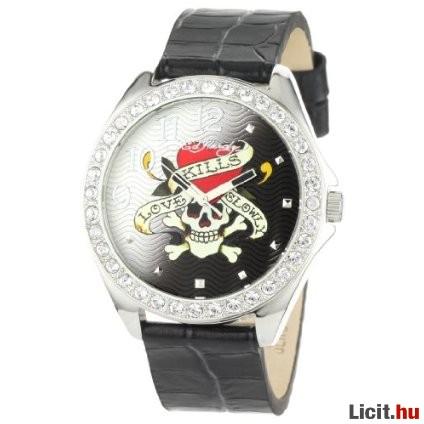 Licit.hu Eredeti Ed Hardy SL-LK Starlets Női óra Az ingyenes aukciós ... ebe83edaf1