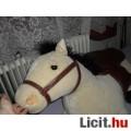 Gigantikus gyönyörű hatalmas plüss ló lovacska
