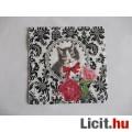 szalvéta - cica