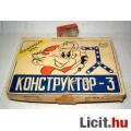 Eladó Konsztruktor-3 Építő Játék Retro Szovjet kb.1980 (6képpel :)
