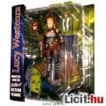 Eladó Steampunk Lucy Westenra figura - 18cmes női Vámpír Vadász figura fegyverekkel és talapzattal Monster