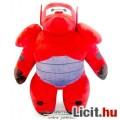 Eladó 30cm-es Big Hero 6 / Hős6os - Baymaplüss játék figura piros páncélos megjelenéssel - Új, márkás, cím