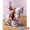 Eladó Király lovon porcelán nipp
