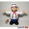 Szakács Figura 23cm Retro (talán Super Mario) (3képpel :) Gyűjteménybe