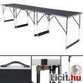 Alumínium többcélú asztal összecsukható 300x60cm Új