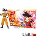 Eladó 16cm-es Dragon Ball Z figura - Goku / Songoku mozgatható figura építő modell szett fekete hajú megje