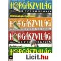 HORGÁSZVILÁG -A PECAMAGAZIN 2005. 6. évfolyam 1-12. szám (TELJES ÉVF.)