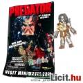Eladó 6cmes Minimates Predator figura - Jungle Hunter Predator maszkos arcú mozgatható minifigura - Diamon