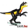 Eladó LEGO dínó mini figura - 16cmes Raptor / Velociraptor fekete-sárga Jurassic World / Park Dinosaur din