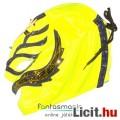 Eladó Pankrátor maszk - Rey Mysterio sárga-kék-arany felvehető mexikói Lucha Libre Pankráció maszk