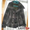 Kockás, egyedi, M-es, elegáns kabát pulóver áron! AKCIÓ! NÉzd!