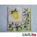 szalvéta - citrom és oliva