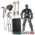 Eladó GI Joe figura - 25th / PoC Snake Eyes v53 Ninja Commando katona figura rugó akcióval, páncéllal és k