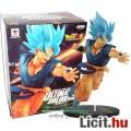 Eladó 20cm-es Dragon Ball Z / Dragonball figura - Son Goku / Songoku Super Saiyan God Blue - Banpresto Dra