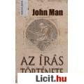 Eladó John Man: Az írás története