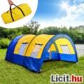 XXL sátor kemping sátor alagút sátor  4-6 fő  használt