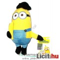 Eladó 13cm-es Minions / Minyon plüss Kevin figura banánnal - Despicable Me / Gru alattvaló