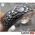 Eladó Tibeti ezüst karkötő, karperec 2 cm széles!