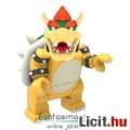Eladó KNeNintendo Super Mario figura - Bowser Koopa minifigura 4-5-es mozgatható, kompatibilis Mario teknő