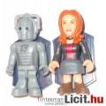 Ki vagy, Doki? / Doctor Who - Minifigura Kollekció - Cyberman és Amy Pond útitárs figura - 2db figur
