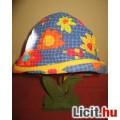 tündéri vidám virágos kalap