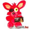 Eladó Five Nights at Freddys plüss játék figura Foxy / Foxi róka 22cmes plüss figura - Új, eredeti, címkés
