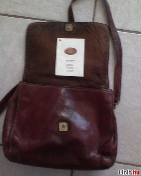 Licit.hu  THE BRIDGE Barna bőr váll táska Az ingyenes aukciós ... d994a0ce53